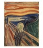 Canvas 43 x 1 x 55 Inch The Scream by Edvard Munch Framed Large Digital Art Print by Tallenge