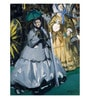 Tallenge Canvas 43 x 1 x 57 Inch Women At The Races by Edouard Manet Framed Large Digital Art Print