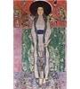 Tallenge Gallery Wrap Canvas 12 x 24 Inch Old Masters Collection Mrs Adele Bloch-Bauer by Gustav Klimts Framed Digital Art Prints