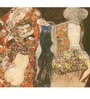 Tallenge Gallery Wrap Canvas 18 x 18 Inch Old Masters Collection The Bride by Gustav Klimts Framed Digital Art Prints