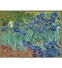 Tallenge Gallery Wrap Canvas 18 x 24 Inch Old Masters Collection Irises by Vincent Van Goghs Framed Digital Art Prints
