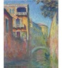 Tallenge Gallery Wrap Canvas 18 x 24 Inch Old Masters Collection Le Rio De La Salute by Claude Monets Framed Digital Art Prints