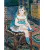 Gallery Wrap Canvas 18 x 24 Inch Old Masters 'Mlle Georgette Charpentier Seated by Pierre-Auguste Renoir Framed Digital Art Print by Tallenge