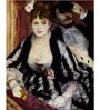 Tallenge Gallery Wrap Canvas 18 x 24 Inch Old Masters Collection The Theatre Box by Pierre-Auguste Renoirs Framed Digital Art Prints