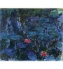 Tallenge Gallery Wrap Canvas 18 x 24 Inch Old Masters Collection Water Lilies by Claude Monet Framed Digital Art Prints