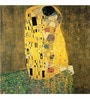 Tallenge Photographic Paper 18 x 18 Inch Old Masters Collection The Kiss by Gustav Klimts Framed Digital Art Prints