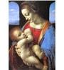 Tallenge Rolled Canvas 12 x 18 Inch Old Masters Collection Madonna Litta by Leonardo Da Vinci Unframed Digital Art Prints