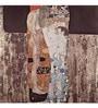 Tallenge Rolled Canvas 18 x 18 Inch Old Masters Collection Mother & Child by Gustav Klimt Unframed Digital Art Prints