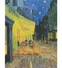 Rolled Canvas 36 x 48 Inch Old Masters Collection The Cafe Terrace on The Place Du Forum by Vincent Van Gogh Unframed Digital Art Prints by Tallenge