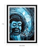 Paper 12 x 0.5 x 17 Inch Buddha The Enlightened One 2 Framed Digital Poster by Tallenge