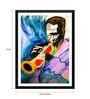 Paper 12 x 0.5 x 17 Inch Miles Davis Framed Digital Poster by Tallenge