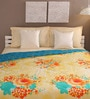 Green & Red Cotton Queen Size Comforter by Tangerine