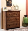 Dakota Chest of Three Drawers in Provincial Teak Finish by Woodsworth