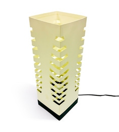 The Light Box Off White Paper Petals Lamp Shade