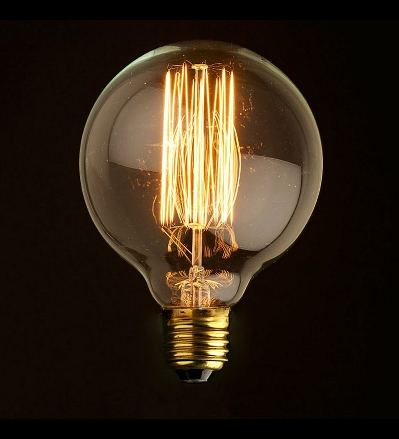 Side Atom 40W Filament Bulb by The Brighter Side