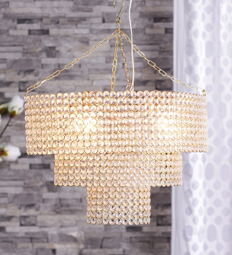 Aluminium Chandelier by The Brighter Side