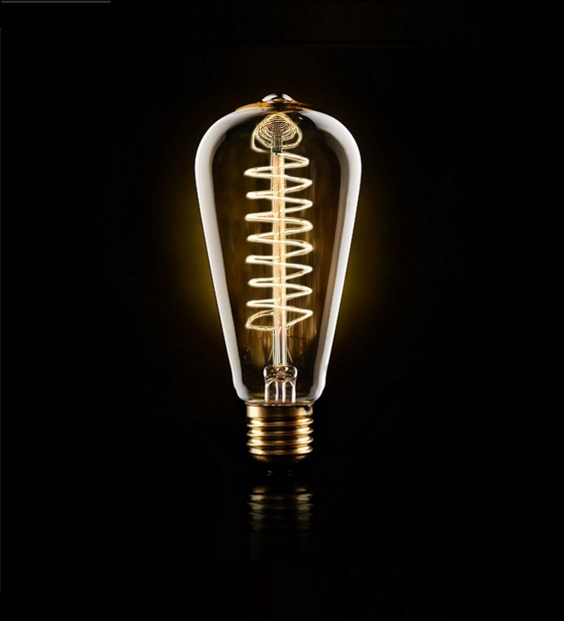 Tear Drop R2 40W Filament Bulb by The Brighter Side