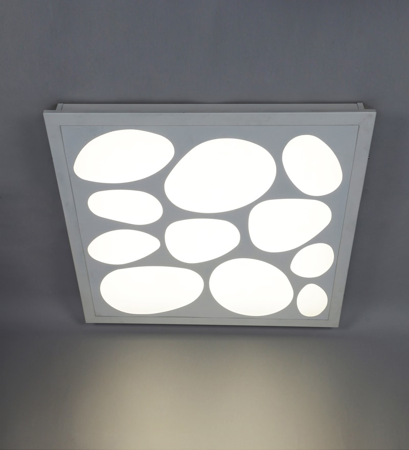 White Acrylic Recessed Light by The Brighter Side