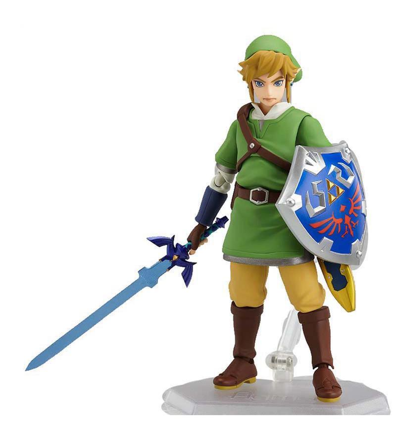 The Legend Of Zelda Skyward Sword Link Action Figure by Entertainment Store