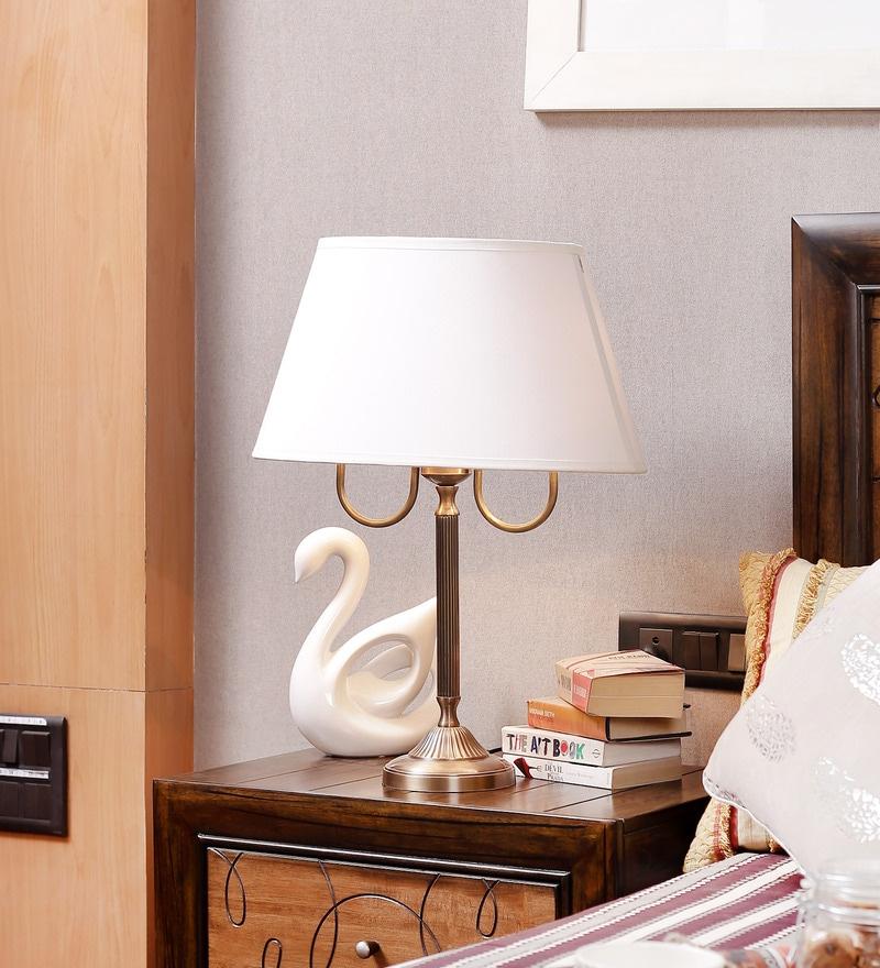Brass Table Lamp by Kapoor E Illuminations