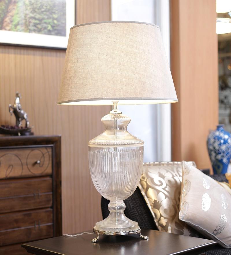 Glass Table Lamp by Kapoor E Illuminations