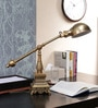Antique Brass Study Lamp by The 7th Galaxy