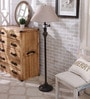 Beige Fabric Floor Lamp by The 7th Galaxy