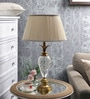Beige Fabric Table Lamp by The 7th Galaxy