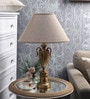 Beige Parchment Table Lamp by The 7th Galaxy