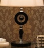 White Fabric Table Lamp by The 7th Galaxy