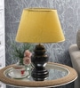 Black Parchment Table Lamp by The 7th Galaxy