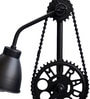 Black Iron Table Lamp by The Black Steel