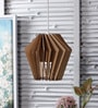 Brown Wood Pendant by The Brighter Side