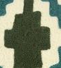 Multicolour Cotton 17.5 x 17.5 Inch Ethnic Design Cushion Cover by The Decor Mart