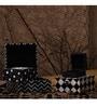 The Jinxed Wood & Acrylic Black Keepsake Nestable Boxes - Set of 4 by OddCroft