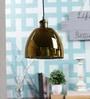 Chrome Glass Pendant by Kapoor E Illuminations