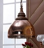 The Light Store Copper Glass Pendant