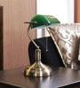 The Light Store Green Glass Study Lamp