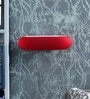 Red Glass Wall Light by Kapoor E Illuminations