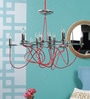 Silver Metal Chandelier by Kapoor E Illuminations