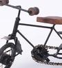 The Mikky Shoppe Station Black & Brown Mango Wood & MDF Jodhpuri Antique Bicycle
