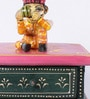The Mikky Shoppe Station Multicolour Mango Wood & MDF Jodhpuri Collectible