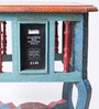 The Mikky Shoppe Station Multicolour Mango Wood & MDF Jodhpuri Side Table