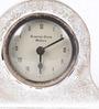 The Mikky Shoppe Station White Mango Wood & MDF Table Clock