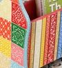 Multicolour MDF Rajasthani Painting Stationary Holder by Nandani Wood