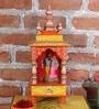 Multicolour MDF Temple by Nandani Wood