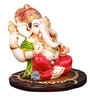 The Nodding Head Multicolor Polyresin Lord Ganesha Idol
