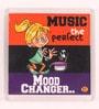 Thoughtroad Multicolour Plastic & Paper Music Is Perfect Fridge Magnet