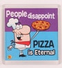 Thoughtroad Multicolour Plastic & Paper People Disappoint Fridge Magnet