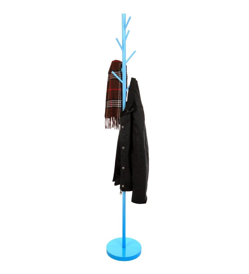 7 Peg Iron Blue Cloth Hanger by Tiara